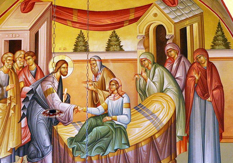 invierea fiicei lui iair